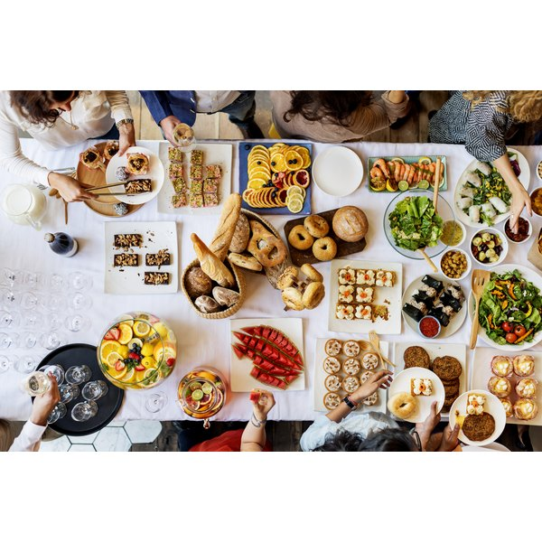 Buffet & Dinner Menu for 20 People