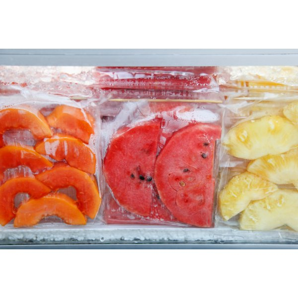 Foods sealed in cellophane bags stay fresher longer.