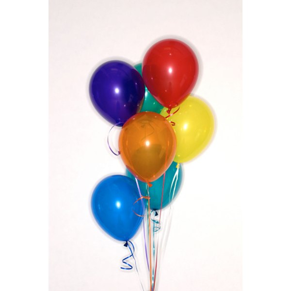 Balloon centerpieces fit any occasion and table setting.
