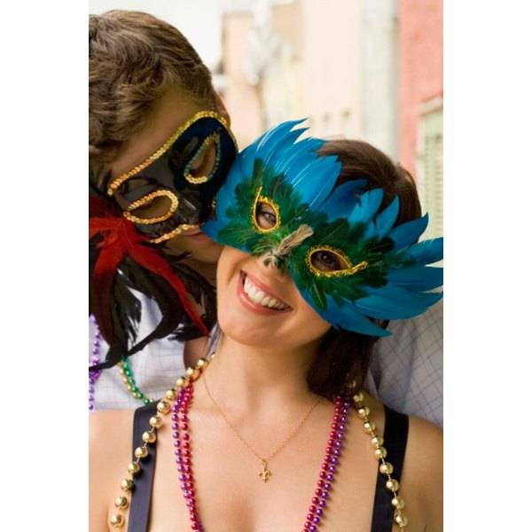 Mardi Gras is all about costumes.
