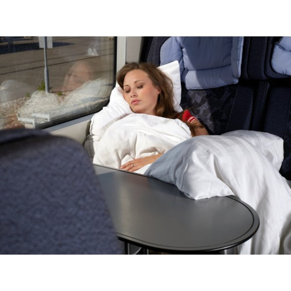 Carry the Snuggie while traveling for a personal blanket.