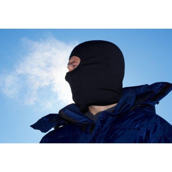 Some ski masks lack neck coverage.