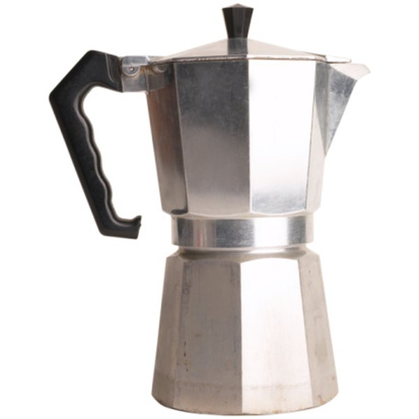 The moka pot offers a simple means for producing rich coffee.