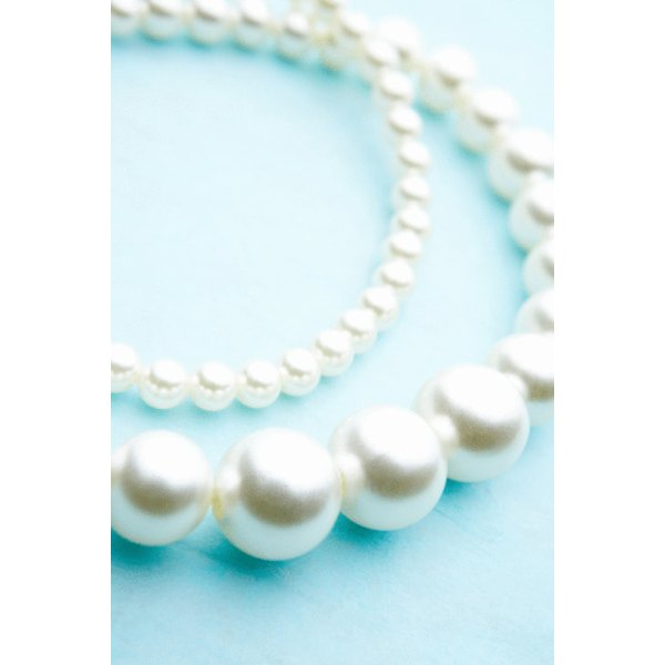 Pearls are judged on size, quality, luster and nacre.