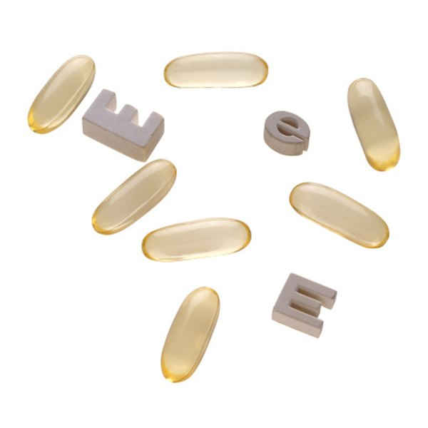 Vitamin E capsules assist in providing vaginal lubrication.