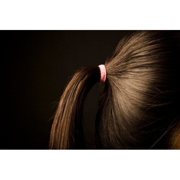 Ponytails are not just for long hair.
