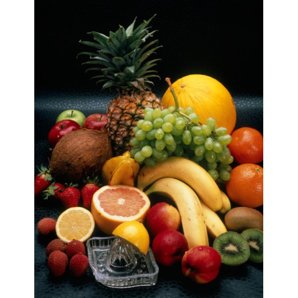 Fruits such as kiwi, strawberries and grapefruit are good sources of vitamin C.