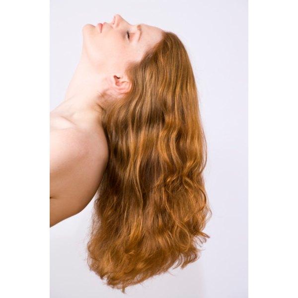 Home hair color is similar to salon hair color.