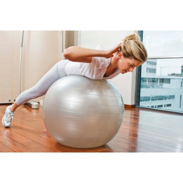 Using an exercise ball is generally safe after cystocele repair.