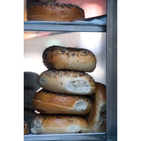 Don't throw out bagels when they begin to stale.