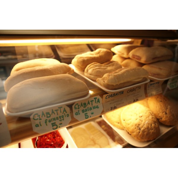 Enjoy crisp and chewy ciabatta bread with diverse foods such as soups, pastas and salads.