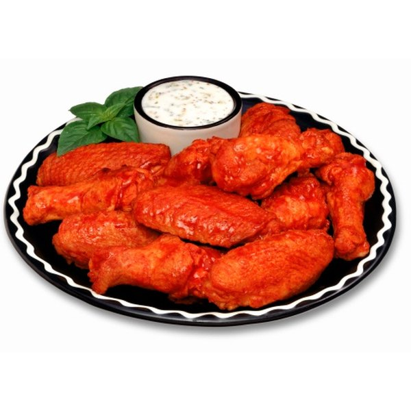 "Buffalo chicken is tempting, but ""kickers"" provide fewer calories."