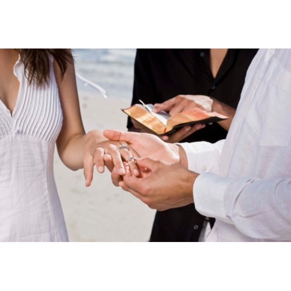 Wedding prayers should be personal and reflect your commitment.