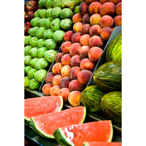 Fruits and vegetables promote an alkaline environment in your body.