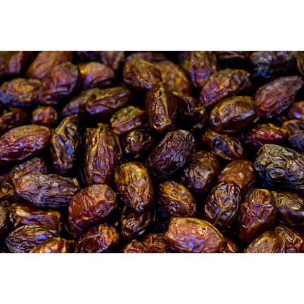 Raisins, which are dehydrated grapes, have a substantial amount of sugar.