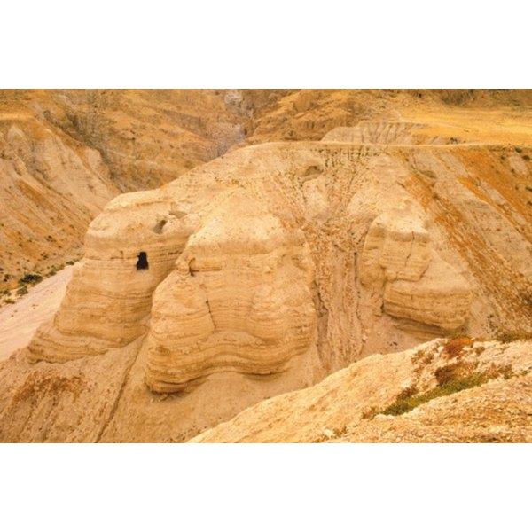 Essenes lived in a harsh desert environment