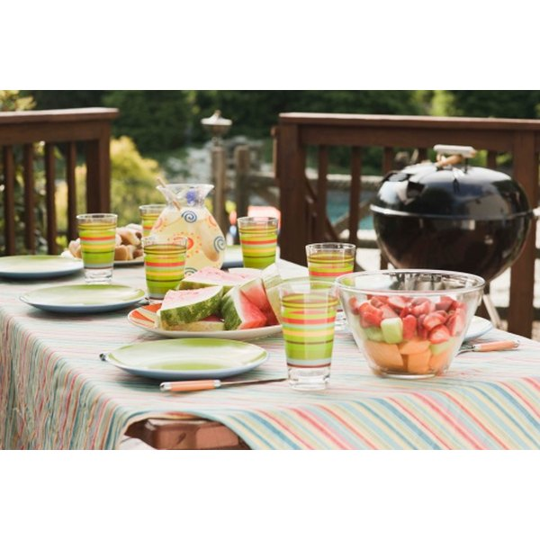 Creative ideas for barbecue dishes turn a ho-hum picnic to real bash.