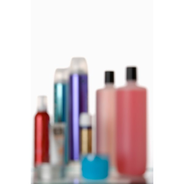 Hairspray can be used to remove ink stains.