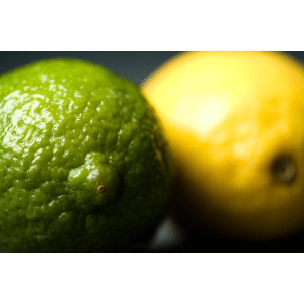 Lemons and limes have similar nutritional content.