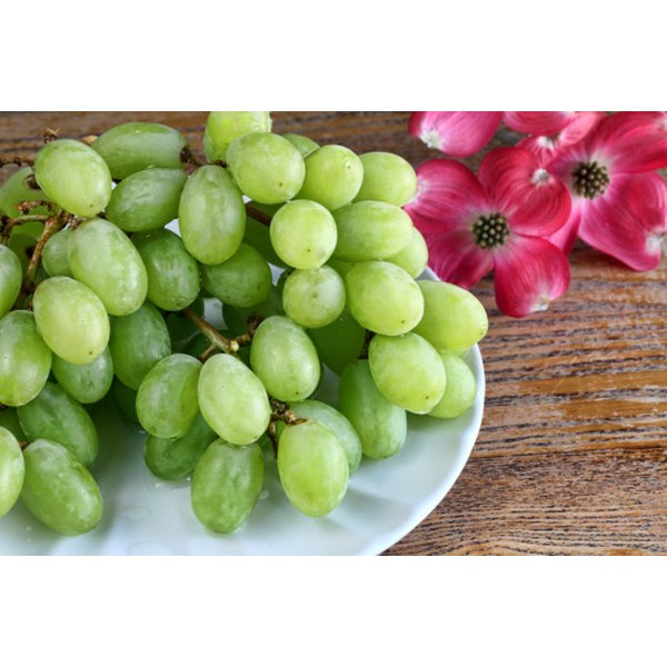 Grapes and other low calorie foods are negative calorie foods