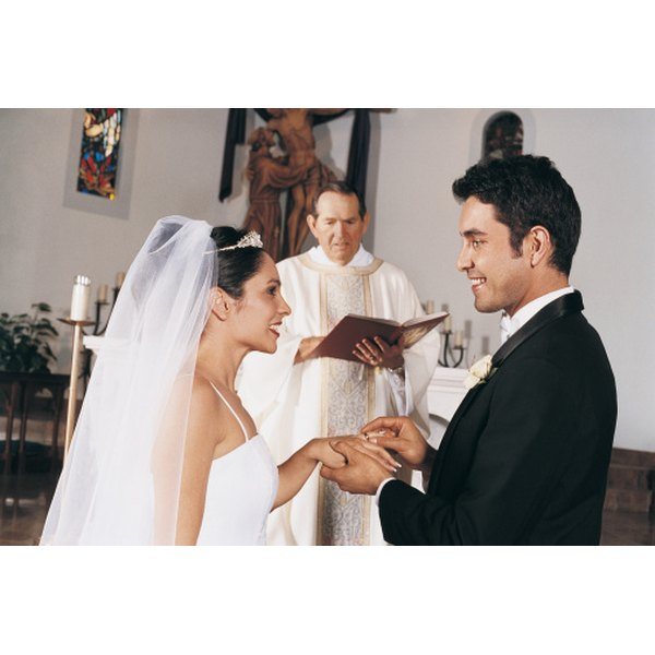Your officiant is someone who can legally perform a wedding ceremony.