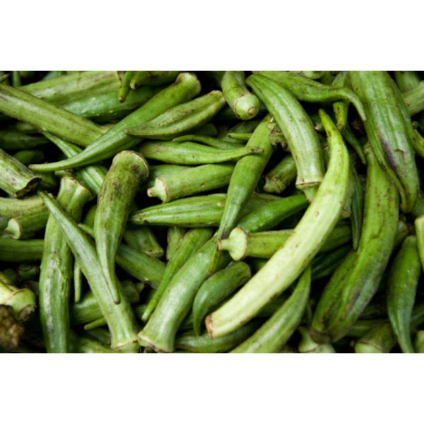 Okra, which is native to Africa, was brought over during the slave trade and is a popular Southern vegetable.