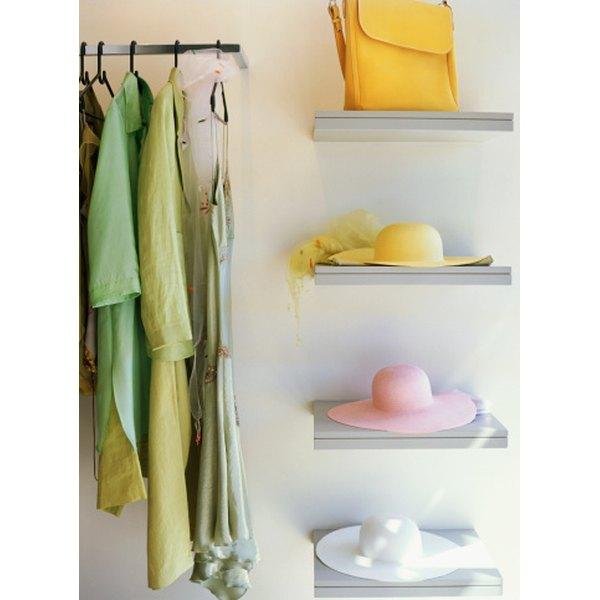 Store your Louis Vuitton handbag flat on a shelf.