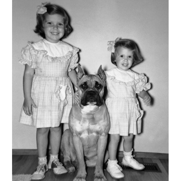 Dresses were popular for girls in the 1950s.