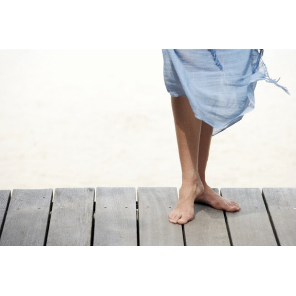 Waxing leaves skin smooth and free of hair.