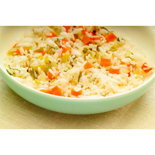 Fried rice is a healthy meal you can easily make at home.