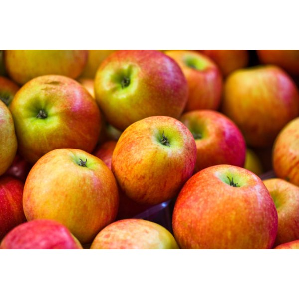 Ambrosia apples contain about 80 calories per medium-sized apple.