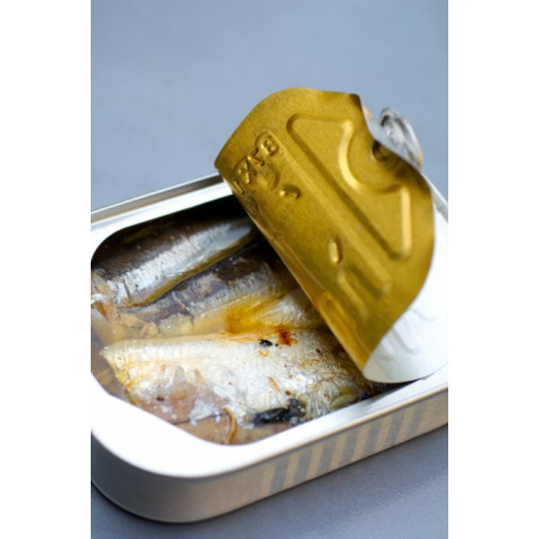 Canned sardines usually come packed in oil.