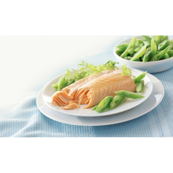 Salmon is one of the best foods you can eat to bulk up.