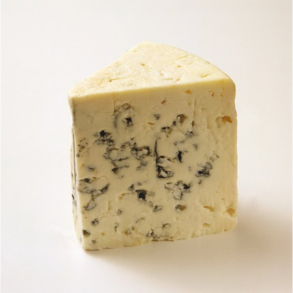 Bleu cheese is high in saturated fat.