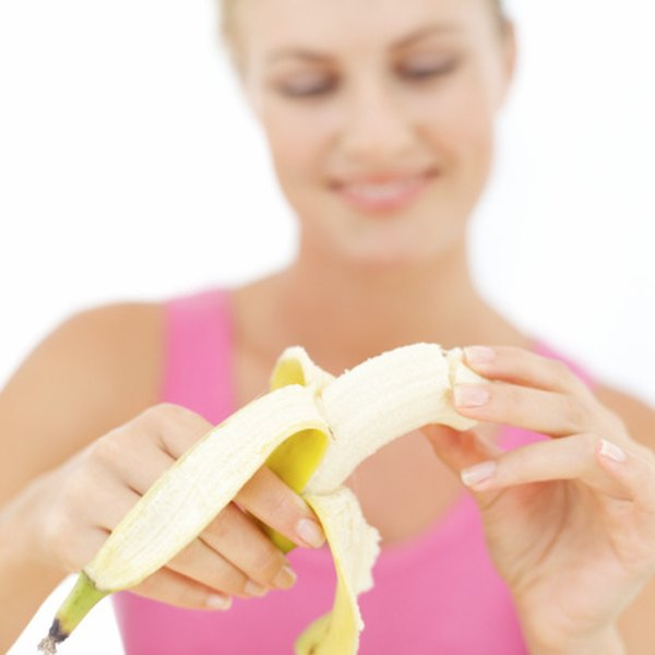 Eating bananas can help prevent running cramps.