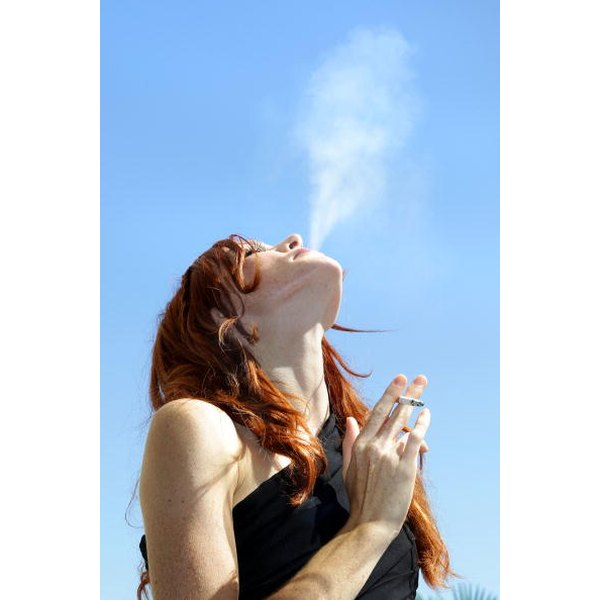 Even without inhaling, cigarette smoke has many known health effects.