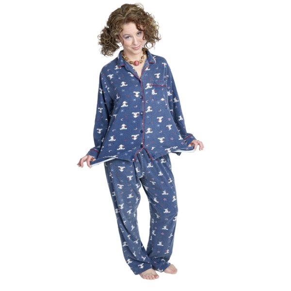 Shrink large pajamas to your size.