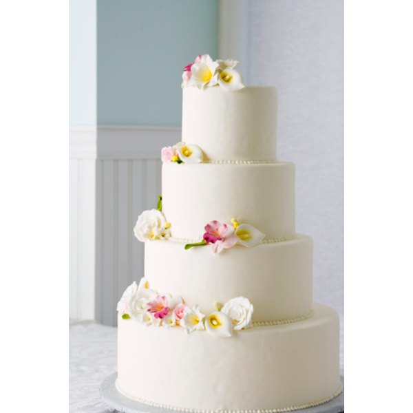 Add Edible Flowers Or Pearls To Complement The Smooth Ercream Icing