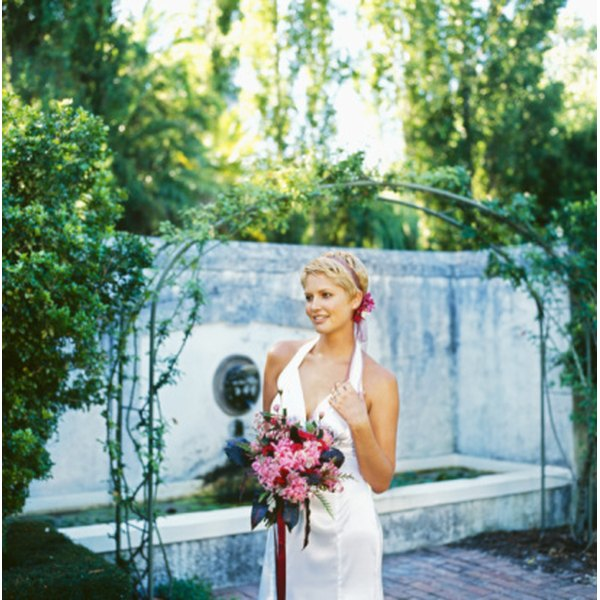 Find an arch to complement your wedding's style and theme.