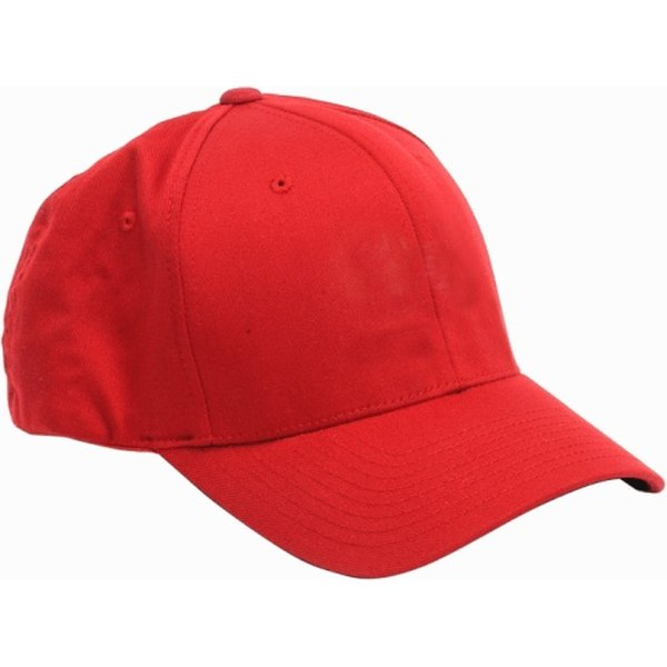 You can flatten the bill of a cap for a new look.