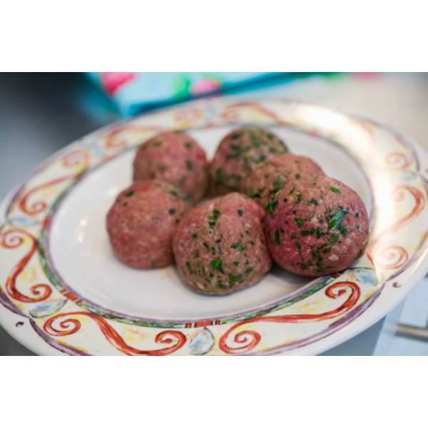 Meatballs are easy to make at home.