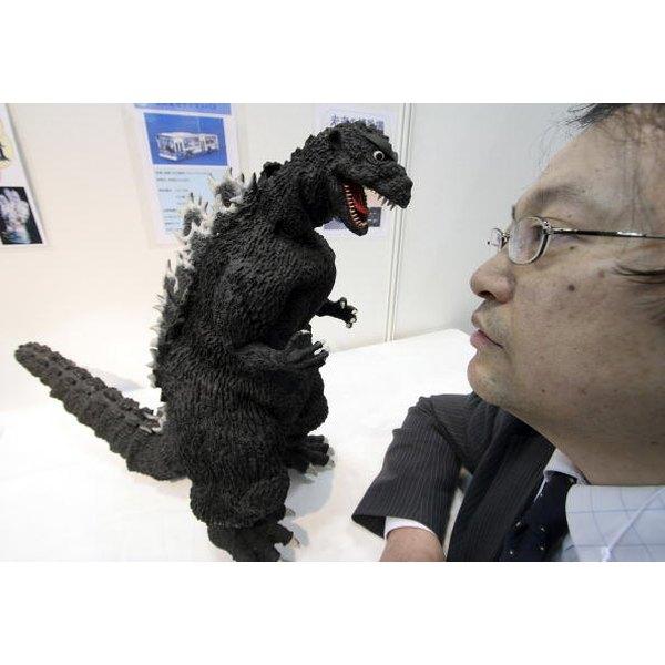 A Godzilla cake can be frightfully fun for the birthday child.