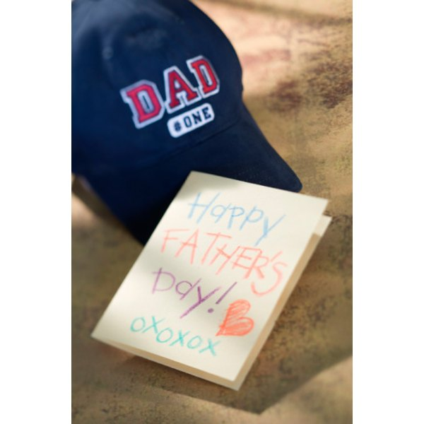 Preschoolers enjoy making handcrafted Father's Day gifts.