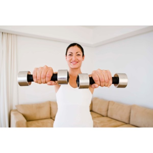 Regular weight training helps to stimulate the release of human growth hormone.