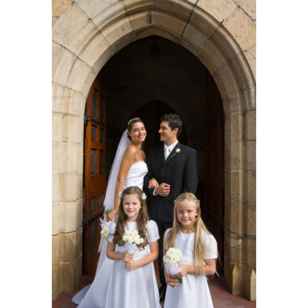 Catholic weddings will follow a general format and incorporate traditional prayers.