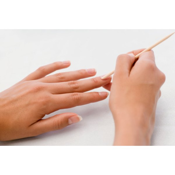 Be Careful Not To Damage The Delicate Rim Of Skin At Base Nail