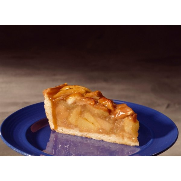 Baking time is slightly longer for a frozen pie.