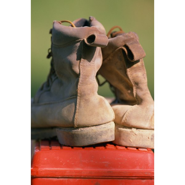 Toughness is a characteristic of ironworker boots.