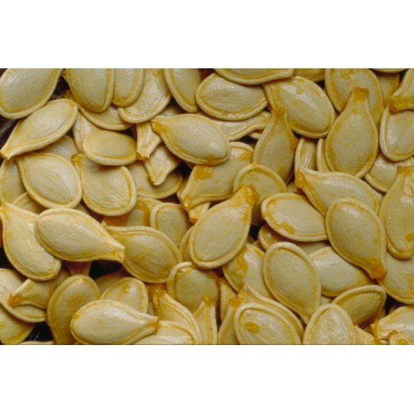 Pumpkin seeds are high in magnesium.