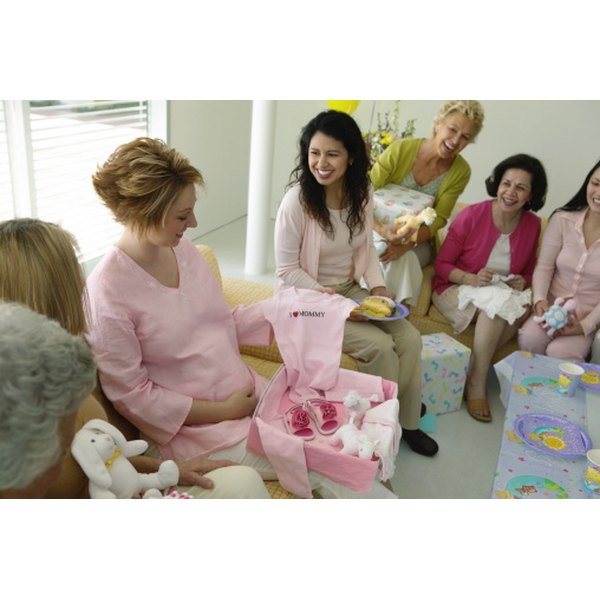 A baby shower lunch is an ideal way to welcome a loved one's new addition.